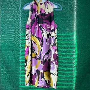 Gorgeous size 10 silk dress